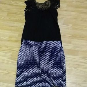 -loft- skirt sz:med with. Matching blouse